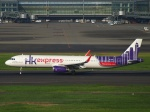 えぬえむさんが、羽田空港で撮影した香港エクスプレス A321-231の航空フォト(写真)