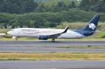 sky77さんが、成田国際空港で撮影したアエロメヒコ航空 737-8ASの航空フォト(写真)