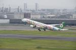 シャークレットさんが、羽田空港で撮影したエバー航空 A330-302Xの航空フォト(写真)