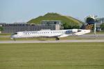 gomaさんが、ミュンヘン・フランツヨーゼフシュトラウス空港で撮影したルフトハンザ・シティライン CL-600-2D24 Regional Jet CRJ-900LRの航空フォト(写真)
