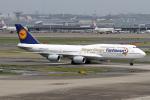 Echo-Kiloさんが、羽田空港で撮影したルフトハンザドイツ航空 747-830の航空フォト(写真)