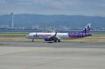 hareotokoさんが、関西国際空港で撮影した香港エクスプレス A321-231の航空フォト(写真)