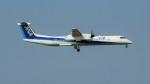 まろんさんが、成田国際空港で撮影したANAウイングス DHC-8-402Q Dash 8の航空フォト(写真)