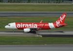 やまっちさんが、シンガポール・チャンギ国際空港で撮影したエアアジア・インドネシア A320-216の航空フォト(写真)