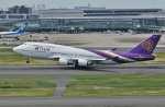 ジェットジャンボさんが、羽田空港で撮影したタイ国際航空 747-4D7の航空フォト(写真)