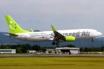 RJBB Spotterさんが、熊本空港で撮影したソラシド エア 737-81Dの航空フォト(写真)