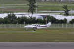 しかばねさんが、仙台空港で撮影した航空大学校 Baron G58の航空フォト(写真)