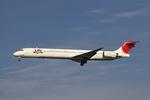 hiko_chunenさんが、羽田空港で撮影した日本航空 MD-90-30の航空フォト(写真)