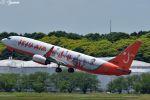 吉田高士さんが、成田国際空港で撮影したチェジュ航空 737-8ALの航空フォト(写真)
