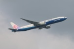 turt@かめちゃんさんが、台湾桃園国際空港で撮影したチャイナエアライン 777-309/ERの航空フォト(写真)