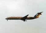 takamaruさんが、名古屋飛行場で撮影した日本エアシステム DC-9-41の航空フォト(写真)