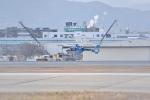 音さん@飛行機バカさんが、福岡空港で撮影した福岡県警察 EC135P2+の航空フォト(写真)