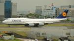 ねぎぬきさんが、羽田空港で撮影したルフトハンザドイツ航空 747-830の航空フォト(写真)