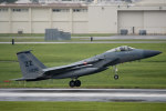 チャッピー・シミズさんが、嘉手納飛行場で撮影したアメリカ空軍 F-15C-31-MC Eagleの航空フォト(写真)