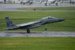 チャッピー・シミズさんが、嘉手納飛行場で撮影したアメリカ空軍 F-15C-33-MC Eagleの航空フォト(写真)