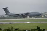 チャッピー・シミズさんが、嘉手納飛行場で撮影したアメリカ空軍 C-5M Super Galaxyの航空フォト(写真)