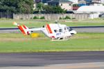 きゅうさんが、名古屋飛行場で撮影したセントラルヘリコプターサービス BK117C-1の航空フォト(写真)