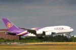 sky-spotterさんが、成田国際空港で撮影したタイ国際航空 A380-841の航空フォト(写真)