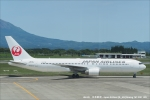 tabi0329さんが、鹿児島空港で撮影した日本航空 767-346/ERの航空フォト(写真)