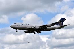 sonnyさんが、成田国際空港で撮影したユナイテッド航空 747-422の航空フォト(写真)
