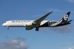 tyusonさんが、成田国際空港で撮影したニュージーランド航空 787-9の航空フォト(写真)