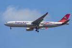 mameshibaさんが、成田国際空港で撮影したトランスアジア航空 A330-343Xの航空フォト(写真)