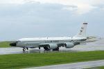 うめやしきさんが、嘉手納飛行場で撮影したアメリカ空軍 RC-135V (739-445B)の航空フォト(写真)