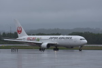 mmb-baseさんが、女満別空港で撮影した日本航空 767-346/ERの航空フォト(写真)