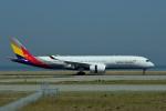 we love kixさんが、関西国際空港で撮影したアシアナ航空 A350-941XWBの航空フォト(写真)