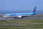 動物村猫君さんが、大分空港で撮影した大韓航空 737-9B5の航空フォト(写真)