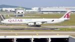 誘喜さんが、クアラルンプール国際空港で撮影したカタール航空 A340-642Xの航空フォト(写真)