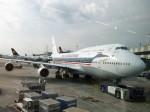 金魚さんが、フランクフルト国際空港で撮影したタイ国際航空 747-4D7の航空フォト(写真)