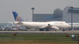 redbull_23さんが、成田国際空港で撮影したユナイテッド航空 747-422の航空フォト(写真)