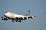 B747‐400さんが、成田国際空港で撮影したユナイテッド航空 747-422の航空フォト(写真)