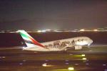 yabyanさんが、中部国際空港で撮影したエミレーツ航空 A380-861の航空フォト(写真)