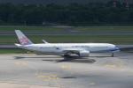 かずまっくすさんが、シンガポール・チャンギ国際空港で撮影したチャイナエアライン A350-941XWBの航空フォト(写真)