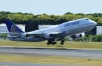 Espace77さんが、成田国際空港で撮影したユナイテッド航空 747-422の航空フォト(写真)