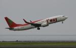 asuto_fさんが、大分空港で撮影したティーウェイ航空 737-8GJの航空フォト(写真)