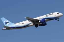 kinsanさんが、マッカラン国際空港で撮影したインテルジェット A320-214の航空フォト(写真)