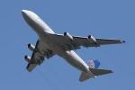 宮崎 育男さんが、成田国際空港で撮影したユナイテッド航空 747-422の航空フォト(写真)