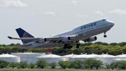 コージーさんが、成田国際空港で撮影したユナイテッド航空 747-422の航空フォト(写真)