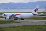 Koba UNITED®さんが、関西国際空港で撮影したマレーシア航空 A330-323Xの航空フォト(写真)