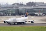 ぽん太さんが、羽田空港で撮影したルフトハンザドイツ航空 747-830の航空フォト(写真)