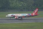 かずまっくすさんが、シンガポール・チャンギ国際空港で撮影したエアアジア A320-216の航空フォト(写真)