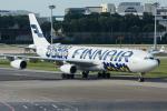 Tomo-Papaさんが、シンガポール・チャンギ国際空港で撮影したフィンエアー A340-313Xの航空フォト(写真)