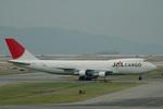 kansaigroundさんが、関西国際空港で撮影した日本航空 747-246Fの航空フォト(写真)