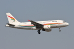 RCH8607さんが、上海虹橋国際空港で撮影したチベット航空 A319-115の航空フォト(写真)