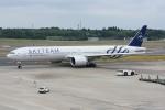 sky77さんが、成田国際空港で撮影したガルーダ・インドネシア航空 777-3U3/ERの航空フォト(写真)