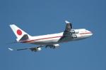 Simさんが、羽田空港で撮影した航空自衛隊 747-47Cの航空フォト(写真)