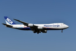 sonnyさんが、成田国際空港で撮影した日本貨物航空 747-8KZF/SCDの航空フォト(写真)